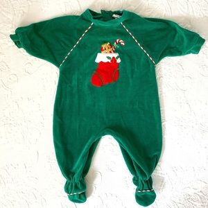 Florence Eiseman   Christmas/Holiday Footie (9 m)